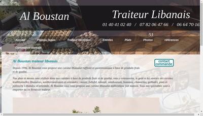 Site internet de Al Boustan