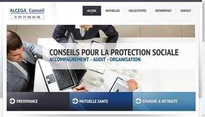 Site internet de Alcega Conseil
