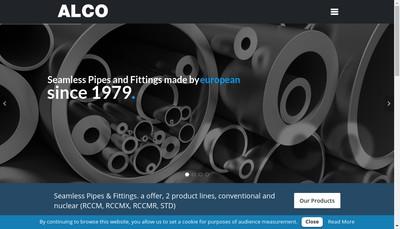 Site internet de Alco SA