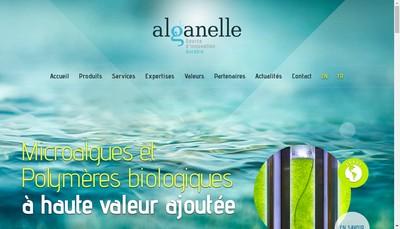 Site internet de Alganelle