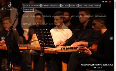 Site internet de Association Al Kamandjati