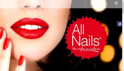 Site internet de All Nails