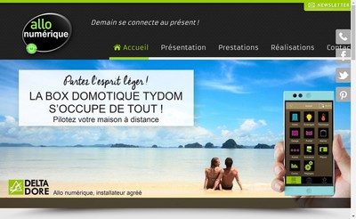 Site internet de Allo Numerique