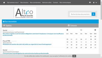 Site internet de SARL Alteo Roy et Associes