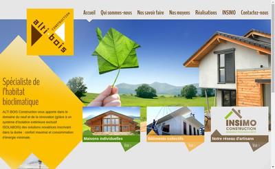 Site internet de Alti Bois Construction