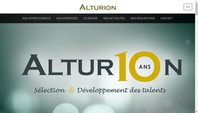 Site internet de Alturion