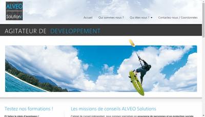 Site internet de Alveo Solutions