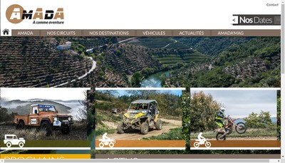 Site internet de Amada