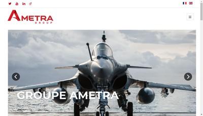 Site internet de Ametra Integration