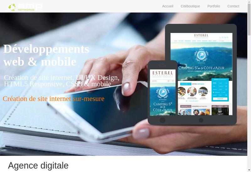 Capture d'écran du site de Yann Baudimont