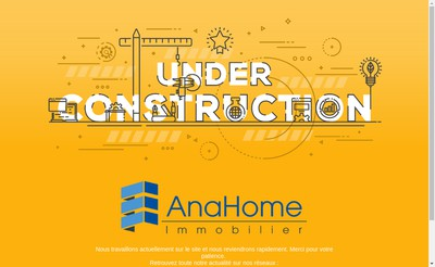 Site internet de Anahome Immobilier