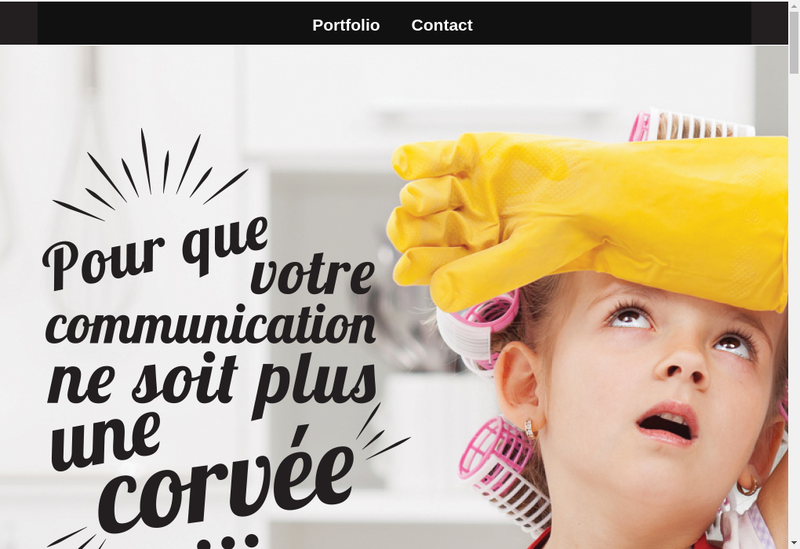 Capture d'écran du site de Anay Communication