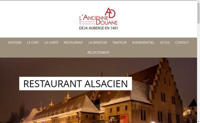 Site internet de A l'Ancienne Douane