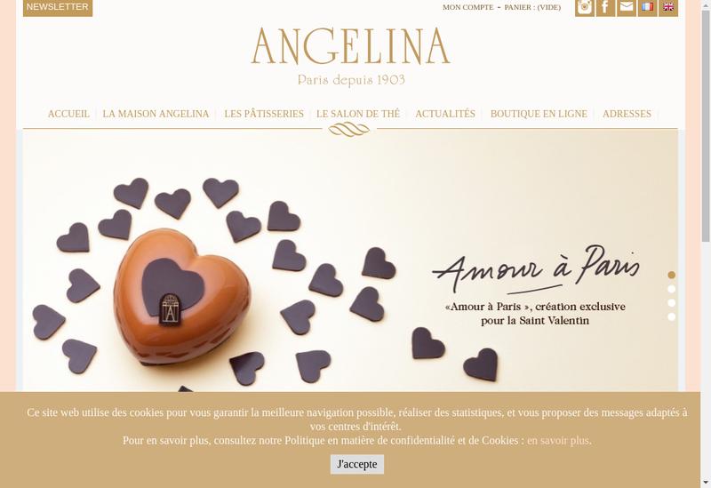 Capture d'écran du site de Arcady'S
