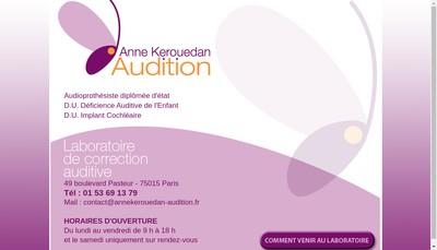 Site internet de Ak Audition