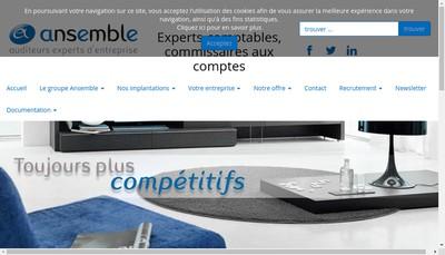 Site internet de Ansemble Marseille