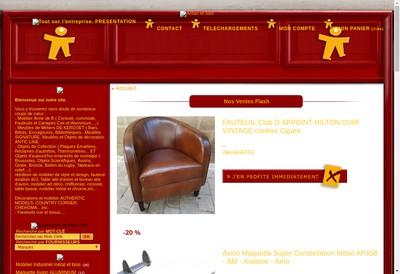 Site internet de Antan et Neo