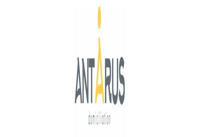 Capture d'écran du site de Antarus