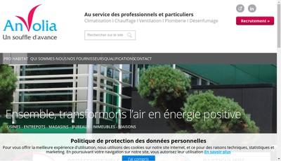 Site internet de Anvolia