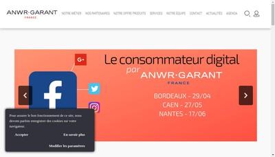 Site internet de Anwr-Garant France