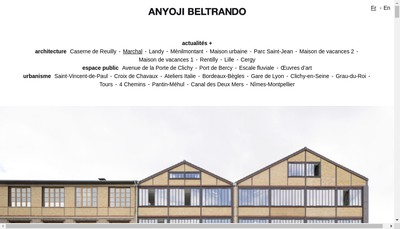 Site internet de Anyoji Beltrando SARL d'Architecture