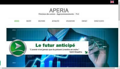 Site internet de Aperia