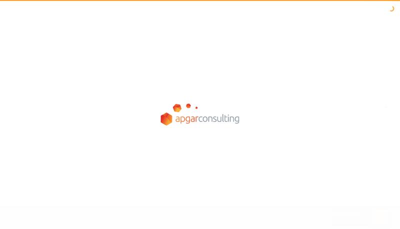 Capture d'écran du site de Apgar Group