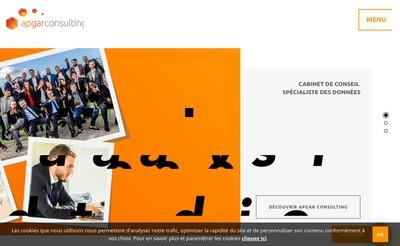 Site internet de Apgar Group