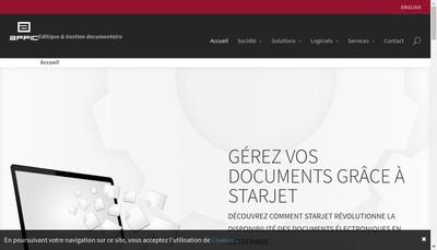 Site internet de Appic