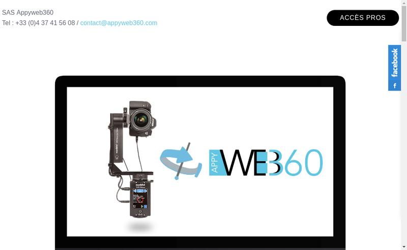 Site internet de Appyweb360