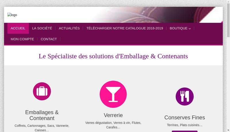 Capture d'écran du site de Sedivin Magnum Mignonette M