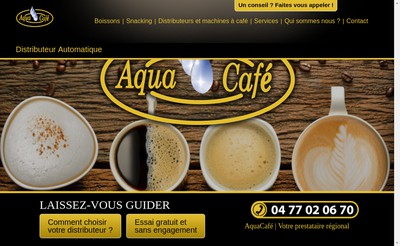 Site internet de Aquafontaine