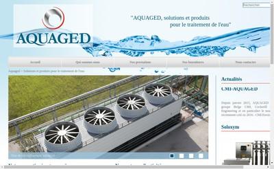 Site internet de Aquaged