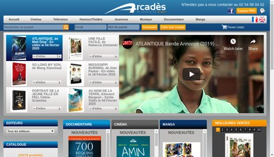 Site internet de L'Arc d'Hades