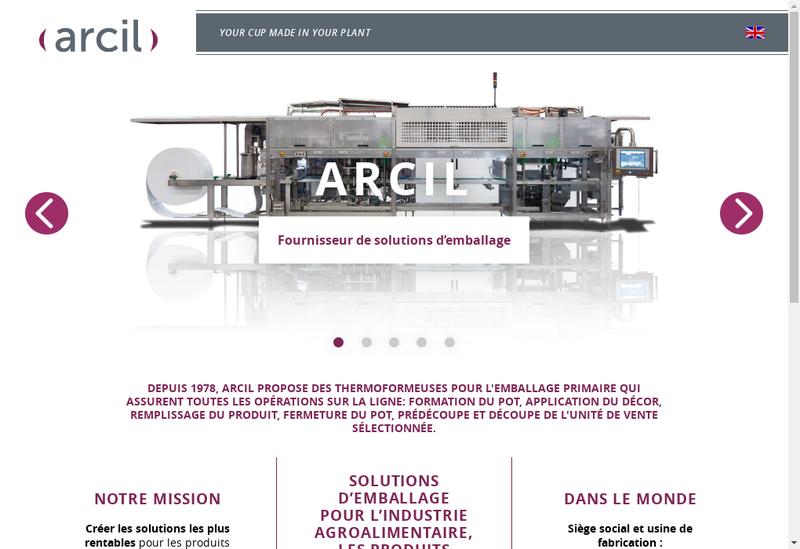 Capture d'écran du site de Synerlinck