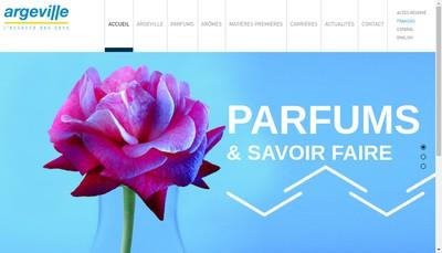 Site internet de Argeville SA