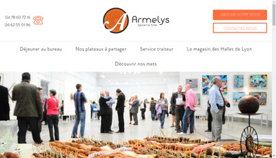 Site internet de Armelys