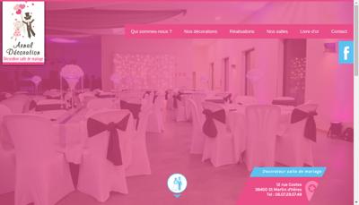 Capture d'écran du site de Arnal Decoration