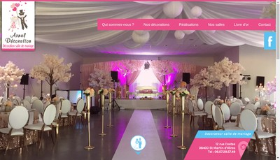 Site internet de Arnal Decoration