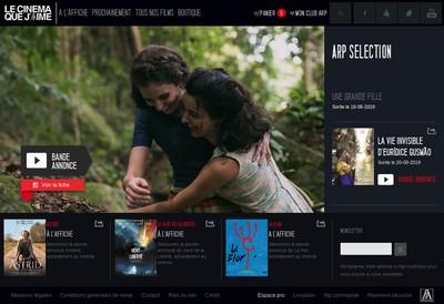 Site internet de Arp Mermoz