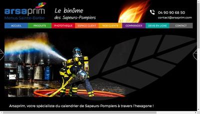 Site internet de Arsaprim