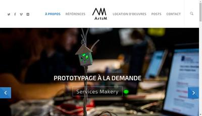Site internet de Art2M