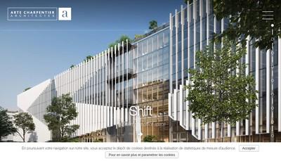 Site internet de Arte Charpentier Architectes