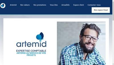 Site internet de Artemid