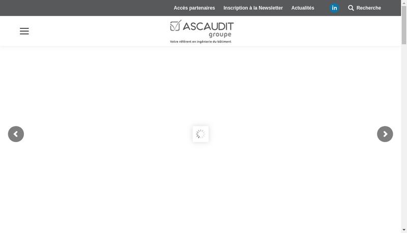 Capture d'écran du site de Ascaudit Energie