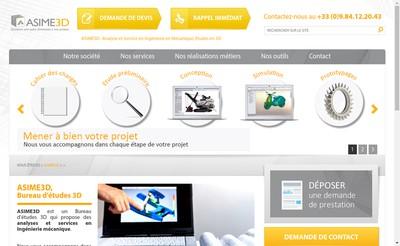 Site internet de Asime3D