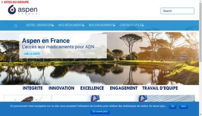 Site internet de Aspen France