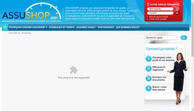 Site internet de Assushop