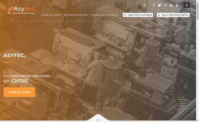 Site internet de Asytec