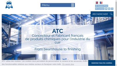 Site internet de Assistance Technique & Commercialisation